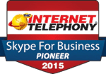 2015 internet telephony skype award
