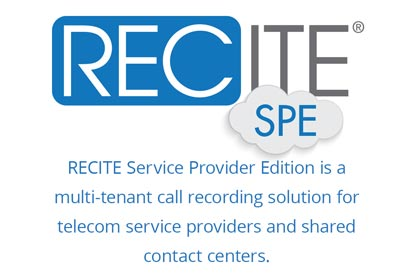 recite spe call recording product